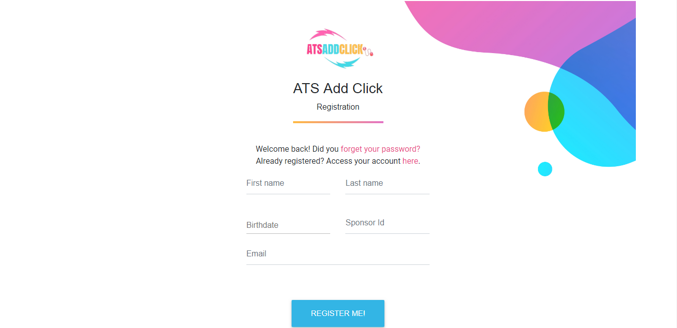 ATS AD CLICK - JOIN NOW