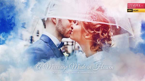 Marriage Made in Heaven - Wedding Invitation - Wedding Opener - Wedding Slideshow
