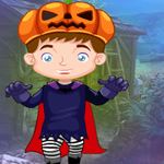 Play Games4King Little Pumpkin Boy Escape
