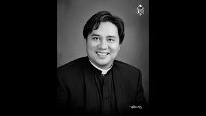 Rev. Fr. John Chia udah nadai pagi tu tadi