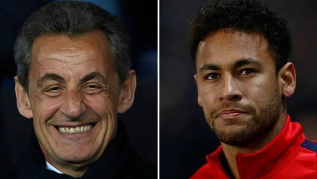 Nicolas Sarkozy super agent dans le transfert de Neymar
