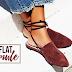 Combine sofisticação e conforto com o Flat Mule!