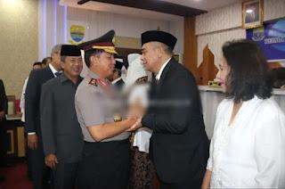 Pengukuhan Kepala BPKP Provinsi Jambi Dihadiri Oleh Kapolda Jambi