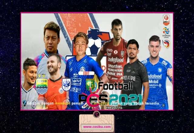PES 2021-2022 Nusantara Liga 1 Indonesia Full Asia Ppsspp Terbaru Kamera PS5