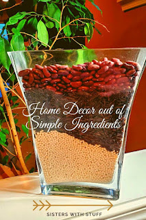 Home decor out of simple ingredients