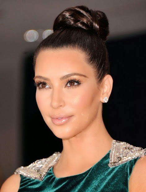 hairstyles kim kardashian