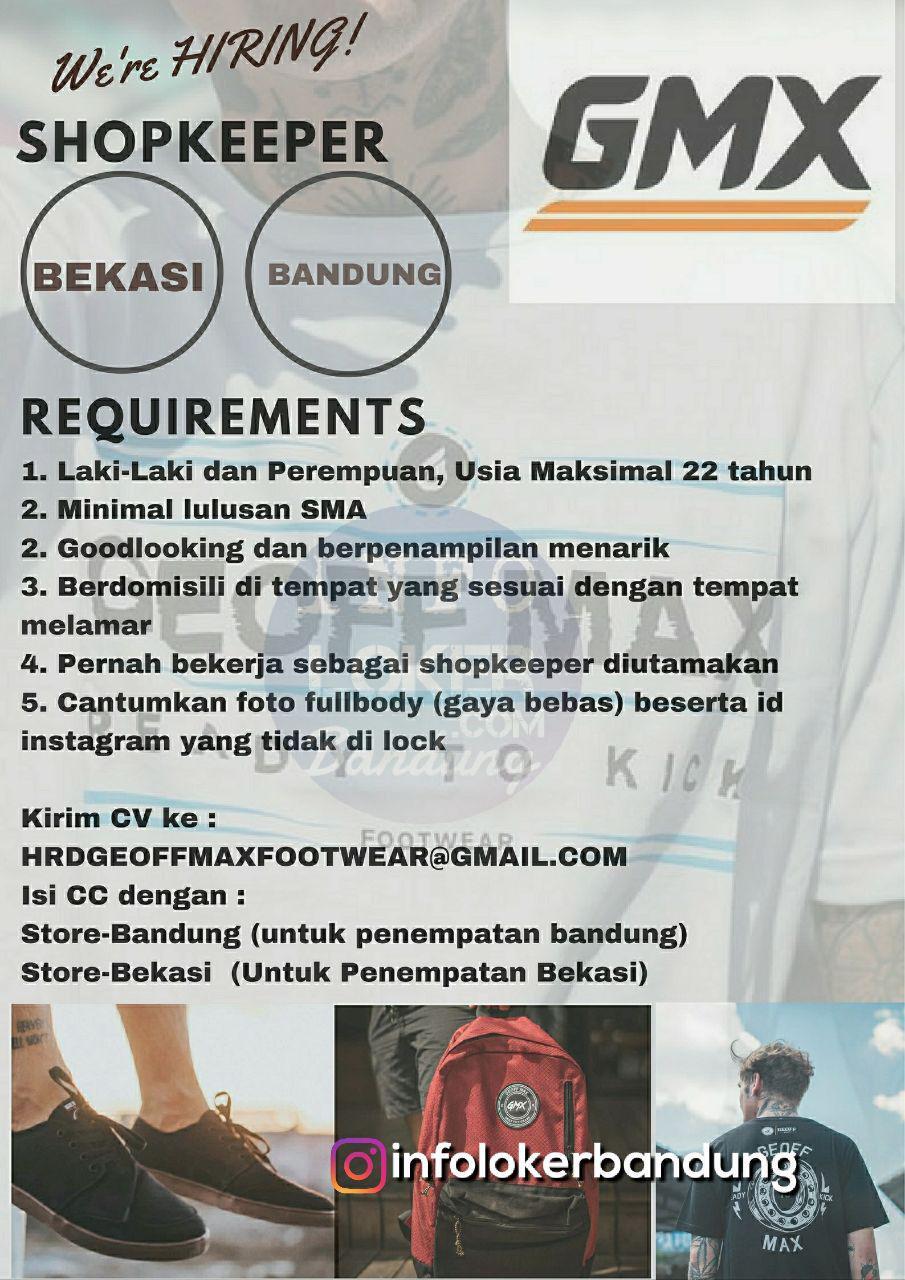 Lowongan Kerja Geoffmax Footwear Bandung Juli 2018