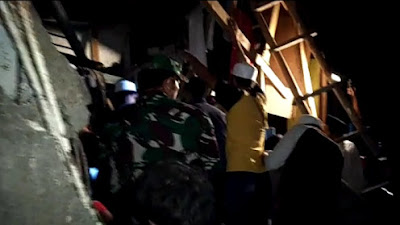 Salahsatu Pondok Pesantren Di Desa Batulawang Kecamatan Cipanas Kabupaten Cianjur Ambruk