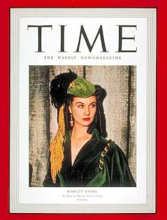 Vivien Leigh Magazine Cover