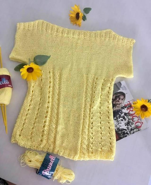Blusinha Sol de Verão