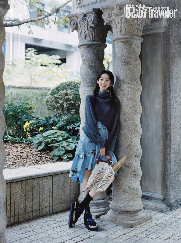 , Zhang Yifan poses for photo shoot