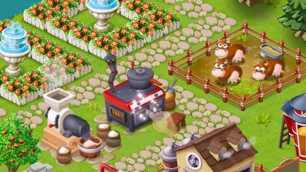 تحميل لعبة المزرعة السعيدة القديمة