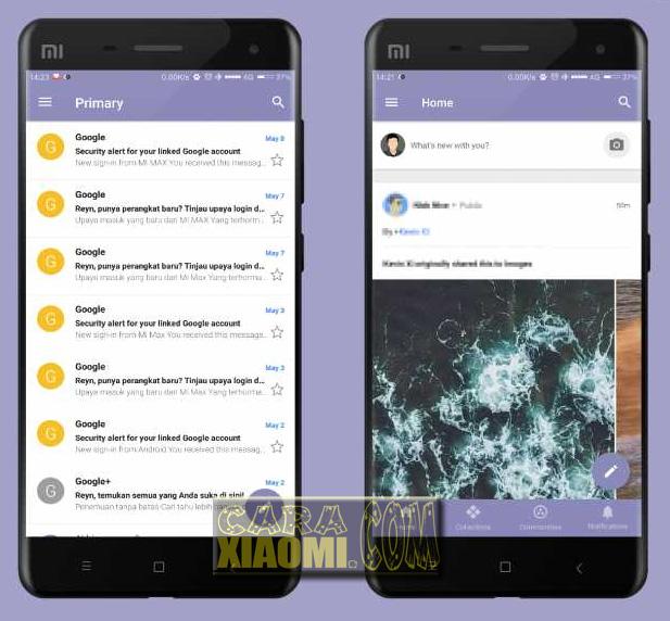 Link Download MIUI theme Owell V8 Theme Mtz For Xiaomi Terbaru