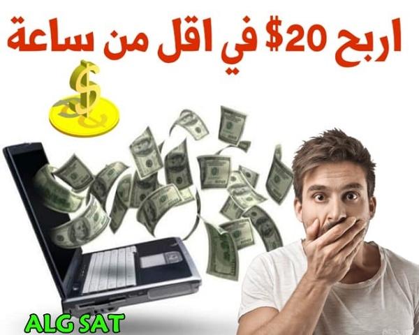 الربح من الانترنت- كسب المال - جني المال -