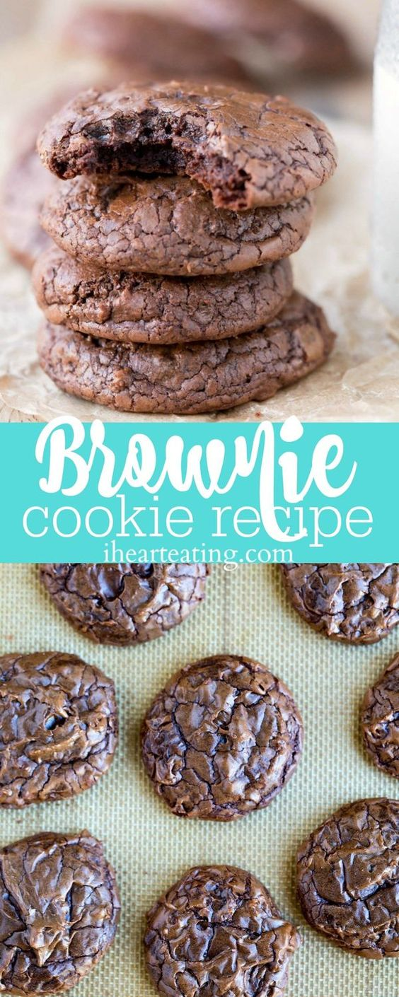 Brownie Cookie Recipe #recipes #dessertrecipes #easyrecipes #easydessertrecipes #food #foodporn #healthy #yummy #instafood #foodie #delicious #dinner #breakfast #dessert #lunch #vegan #cake #eatclean #homemade #diet #healthyfood #cleaneating #foodstagram