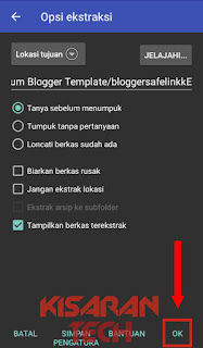 Cara Extract File Zip, Rar Di Android Tanpa Root