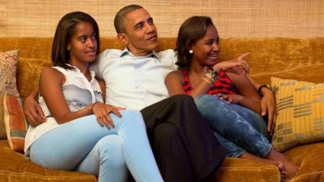 اسم ابنة اوباما الصغرى يثير ضجة كبيرة بين رواد المواقع وهذا هو اسمها الحقيقي