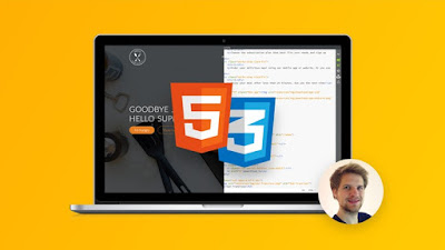 best course to learn HTML 4 and CSS 3 in Udemy