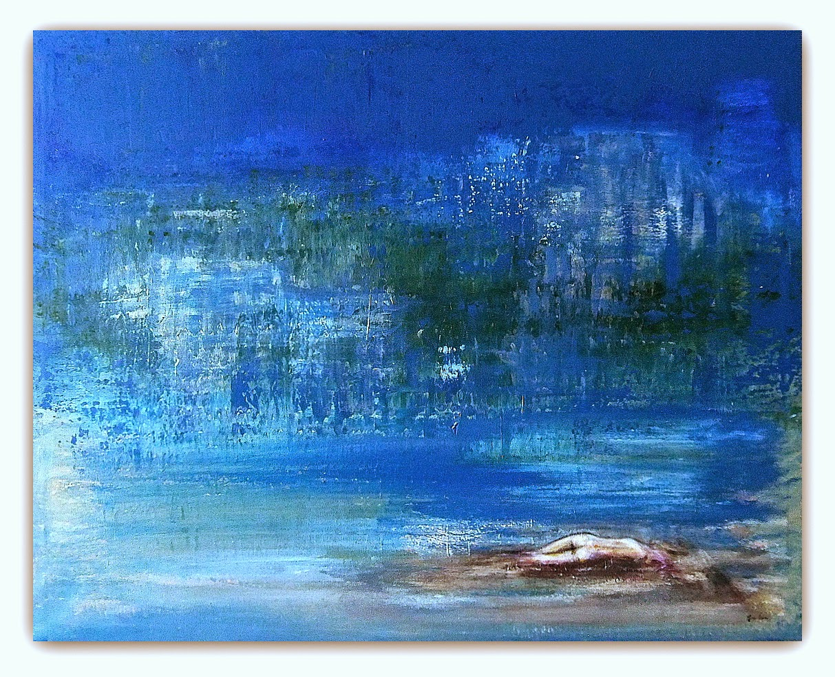 Quadri moderni astratti dipinti sanader art pittura for Quadri dipinti a mano paesaggi