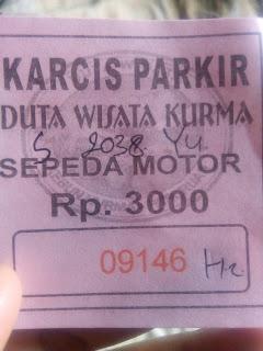 tiket-parkir-kebun-kurma