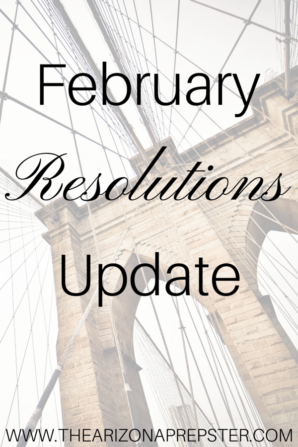 February Resolutions Update