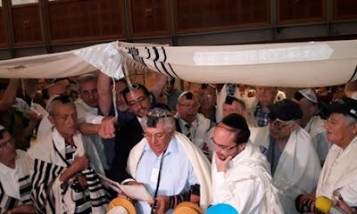 Sobrevivientes del Holocausto celebraron un Bar Mitzvá tardío en Israel