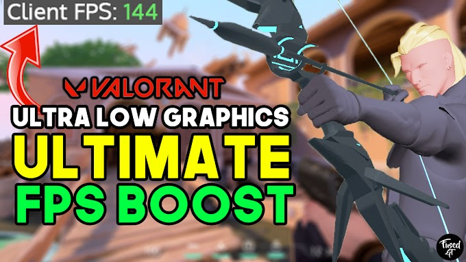 Valorant ULTRA LOW Graphics for LOW END PC / Laptop - FPS Boost, Fix Lag & Stuttering