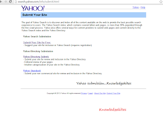 Yahoo Directory Submission