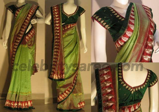 Chettinadu Kadi Border Sarees Saree Blouse Patterns