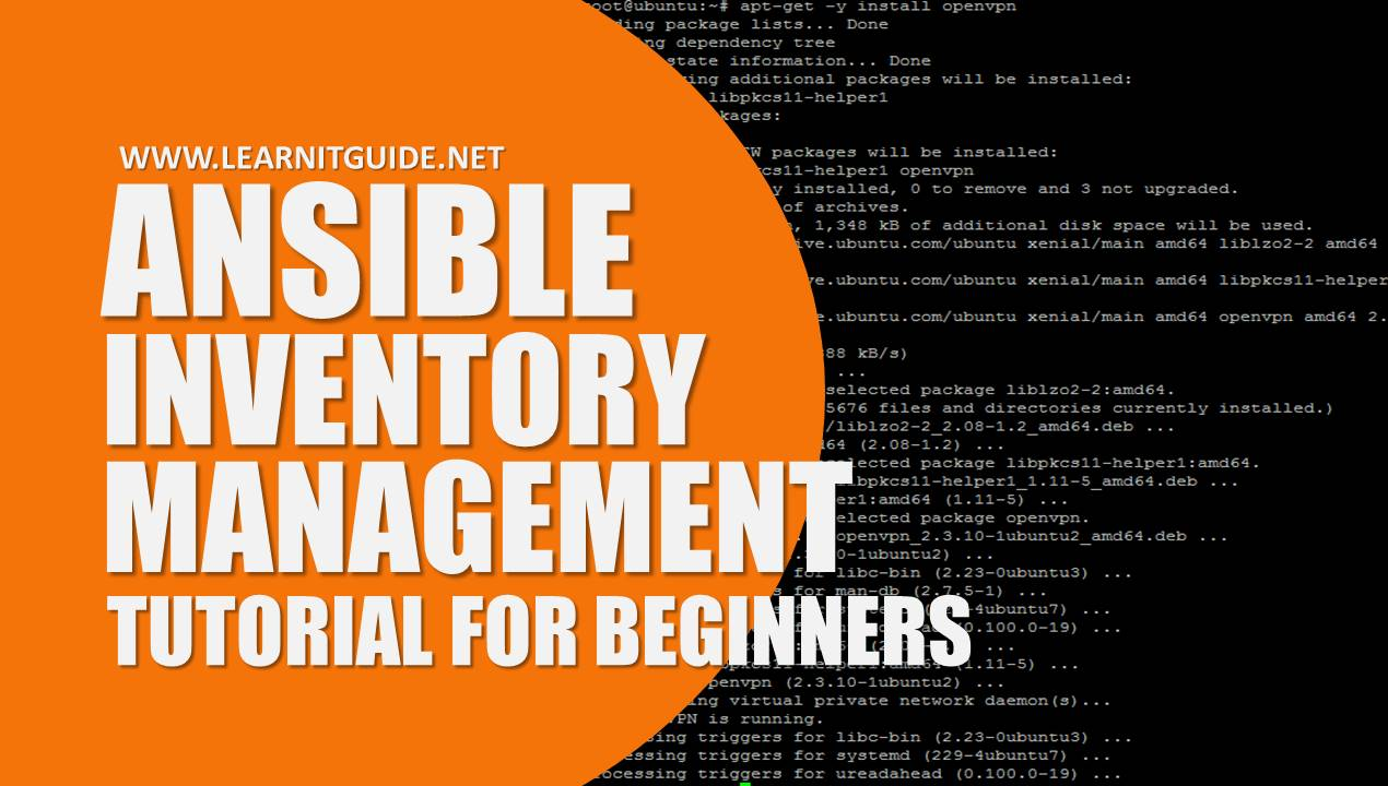 Ansible Inventory Introduction - Ansible Beginner Tutorials