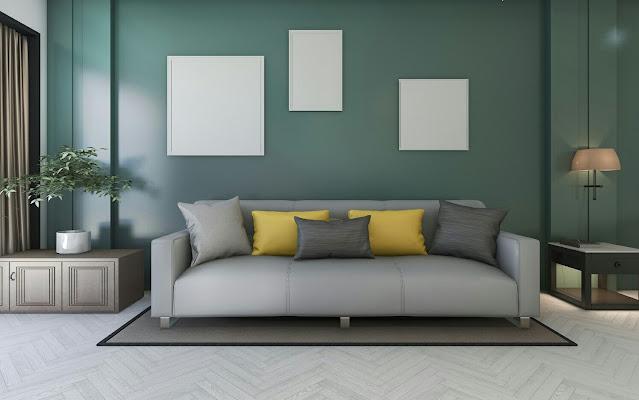 Mint Green House Paint