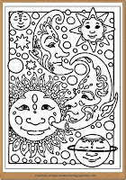 printable planets coloring pages adult