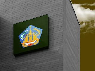 desain papan nama logo provinsi bali - kanalmu