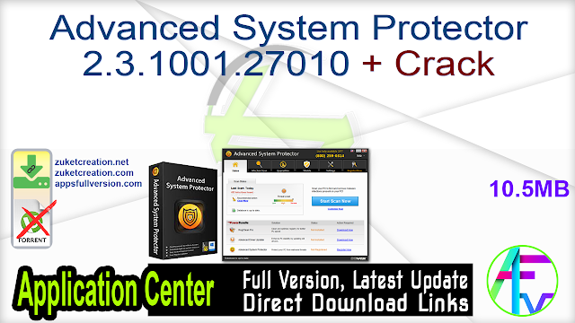Advanced System Protector 2.3.1001.27010 + Crack