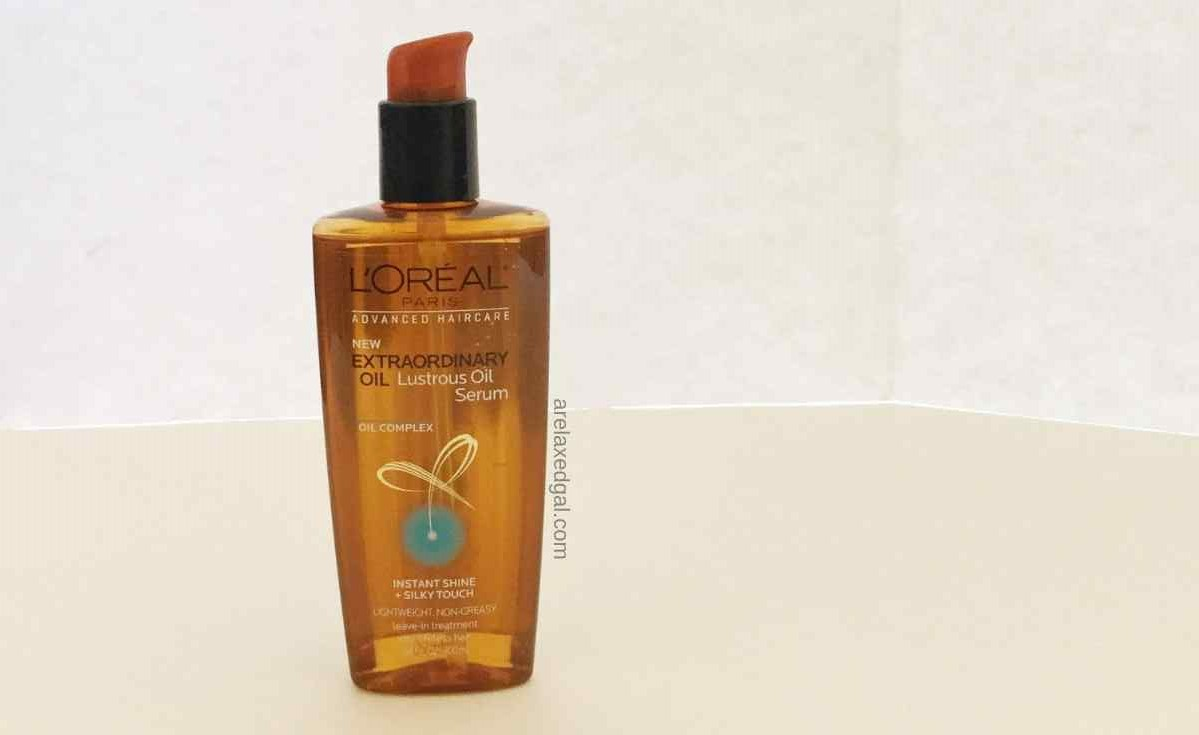 L'Oreal Extraordinary Oil Lustrous Oil Serum first impressions   A Relaxed Gal
