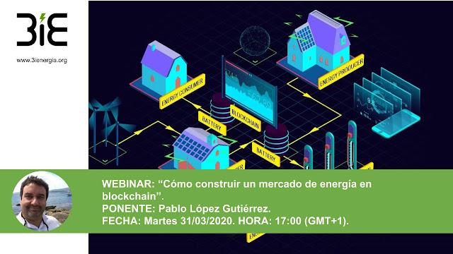 Webinar Blockchain Energía