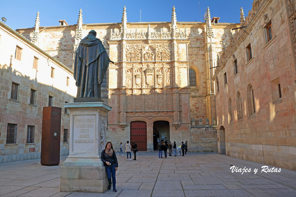 Portada plateresca de la Universidad de Salamanca