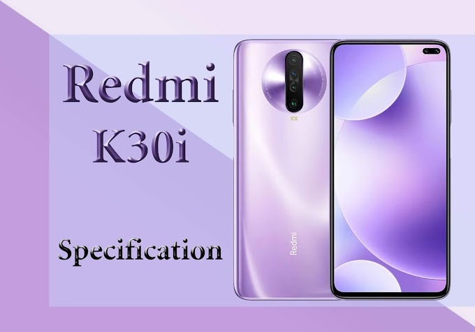 Redmi K30i 5G Smartphone Comes with Dual Front Camera.