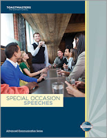 Toastmasters Special Occasions Speeches Manual