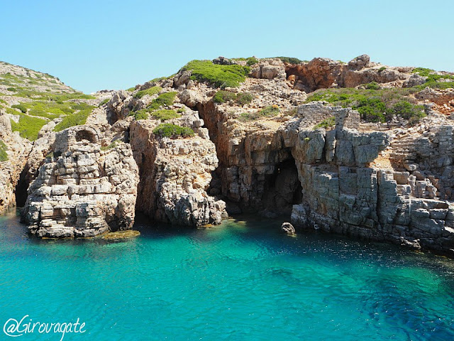 grotte isola saria karpathos