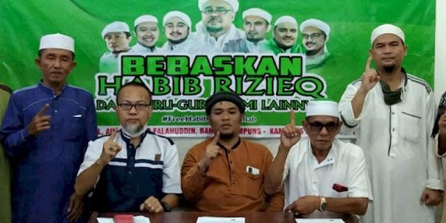 Galang Petisi, FSM Lampung Desak Pembebasan HRS