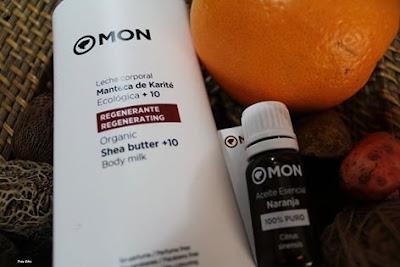 Aceite esencial de naranja.