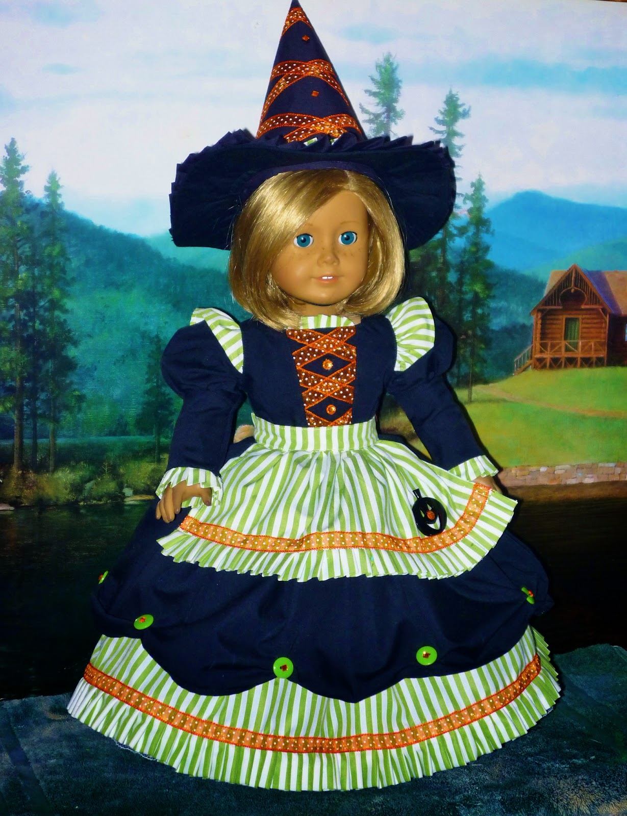 The Stitching Post: American Girl Doll Witch Costumes for Halloween