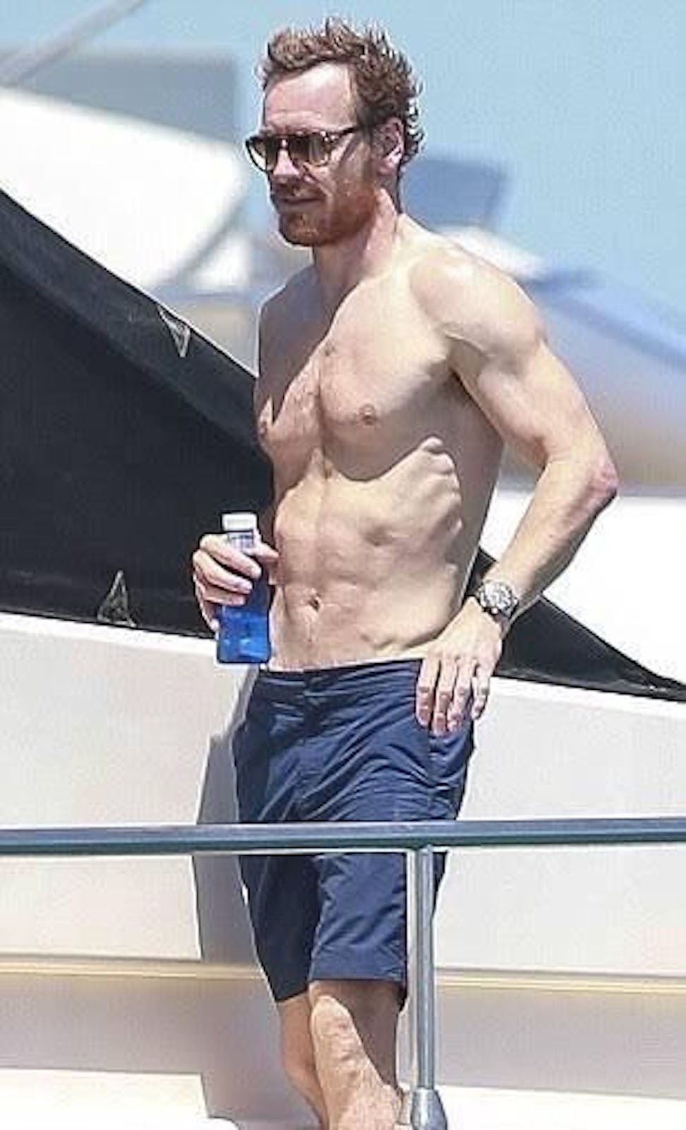 My New Plaid Pants Michael Fassbender Is On A Boat-3902