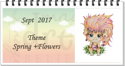"Guest Designer for My Besties Aussie Challenge Blog -""Spring + Flowers"""