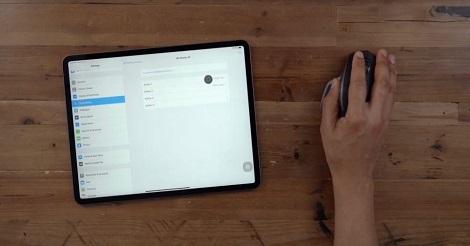 Use Mouse Pad iOS 13