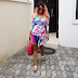 See As Busty Iyabo Ojo Flaunts Major Cleavage In Wrap Dress