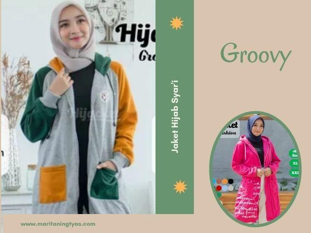 hijaber jaket groovy
