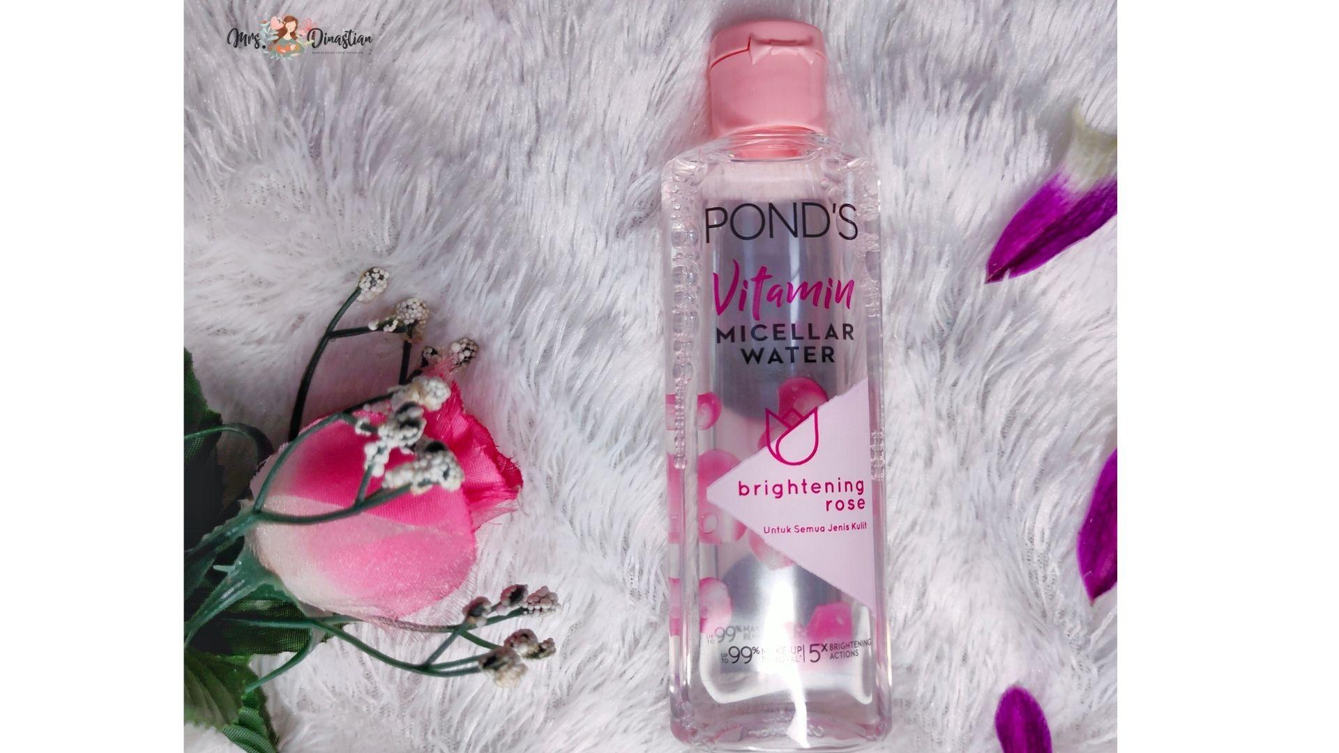 Ponds Vitamin Micellar Water Brightening Rose