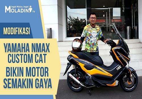 Modifikasi Motor di Moladin Custom Cat